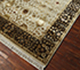 Jaipur Rugs - Hand Knotted Wool and Silk Ivory QNQ-07 Area Rug Floorshot - RUG1054915
