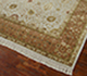 Jaipur Rugs - Hand Knotted Wool and Silk Ivory QNQ-07 Area Rug Floorshot - RUG1054902