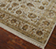 Jaipur Rugs - Hand Knotted Wool and Silk Ivory QNQ-10 Area Rug Floorshot - RUG1023403