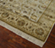 Jaipur Rugs - Hand Knotted Wool and Silk Beige and Brown QNQ-21 Area Rug Floorshot - RUG1023332