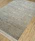 Jaipur Rugs - Hand Knotted Wool and Silk Grey and Black QNQ-21 Area Rug Floorshot - RUG1024914