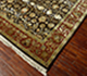 Jaipur Rugs - Hand Knotted Wool and Silk Red and Orange QNQ-24 Area Rug Floorshot - RUG1018337