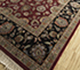 Jaipur Rugs - Hand Knotted Wool and Silk Red and Orange QNQ-27 Area Rug Floorshot - RUG1080014