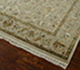 Jaipur Rugs - Hand Knotted Wool and Silk Ivory QNQ-29 Area Rug Floorshot - RUG1041876