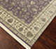 Jaipur Rugs - Hand Knotted Wool and Silk Pink and Purple QNQ-34 Area Rug Floorshot - RUG1068847