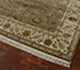 Jaipur Rugs - Hand Knotted Wool and Silk Beige and Brown QNQ-39 Area Rug Floorshot - RUG1024899