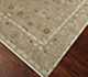 Jaipur Rugs - Hand Knotted Wool and Silk Beige and Brown QNQ-39 Area Rug Floorshot - RUG1066214