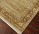 Jaipur Rugs - Hand Knotted Wool and Silk Ivory QNQ-41 Area Rug Floorshot - RUG1023397