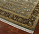 Jaipur Rugs - Hand Knotted Wool and Silk Green QNQ-44 Area Rug Floorshot - RUG1024897