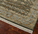 Jaipur Rugs - Hand Knotted Wool and Silk Green QNQ-44 Area Rug Floorshot - RUG1050248