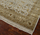 Jaipur Rugs - Hand Knotted Wool and Silk Ivory QNQ-44 Area Rug Floorshot - RUG1035955