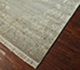 Jaipur Rugs - Hand Knotted Wool and Silk Grey and Black QNQ-53 Area Rug Floorshot - RUG1022321