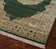 Jaipur Rugs - Hand Knotted Wool and Silk Green QNQ-55 Area Rug Floorshot - RUG1023466