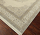 Jaipur Rugs - Hand Knotted Wool and Silk Ivory QNQ-55 Area Rug Floorshot - RUG1069069