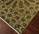 Jaipur Rugs - Hand Knotted Wool and Silk Gold QRA-101 Area Rug Floorshot - RUG1058667