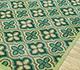 Jaipur Rugs - Flat Weaves Wool Green SDWL-52 Area Rug Floorshot - RUG1092062