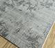 Jaipur Rugs - Hand Loom Wool and Viscose Grey and Black SHWV-53 Area Rug Floorshot - RUG1099939