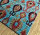 Jaipur Rugs - Hand Knotted Silk Blue SKCS-08 Area Rug Floorshot - RUG1099725