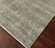 Jaipur Rugs - Hand Knotted Wool and Silk Grey and Black SKRT-517 Area Rug Floorshot - RUG1038588