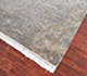 Jaipur Rugs - Hand Knotted Wool and Silk Grey and Black SKRT-813 Area Rug Floorshot - RUG1034583