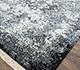 Jaipur Rugs - Hand Knotted Wool and Silk Blue SKRT-814 Area Rug Floorshot - RUG1071043