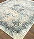 Jaipur Rugs - Hand Knotted Wool and Silk Blue SKRT-814 Area Rug Floorshot - RUG1074161