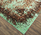 Jaipur Rugs - Hand Knotted Wool and Silk Green SKRT-814 Area Rug Floorshot - RUG1074165