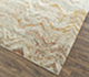 Jaipur Rugs - Hand Knotted Wool and Bamboo Silk Ivory SRB-651 Area Rug Floorshot - RUG1087797