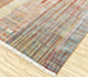Jaipur Rugs - Hand Knotted Wool and Bamboo Silk Red and Orange SRB-701 Area Rug Floorshot - RUG1087808