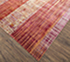 Jaipur Rugs - Hand Knotted Wool and Bamboo Silk Red and Orange SRB-701 Area Rug Floorshot - RUG1074517