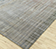 Jaipur Rugs - Hand Knotted Wool and Bamboo Silk Grey and Black SRB-701 Area Rug Floorshot - RUG1084584