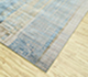 Jaipur Rugs - Hand Knotted Wool and Bamboo Silk Blue SRB-701 Area Rug Floorshot - RUG1087820