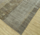 Jaipur Rugs - Hand Knotted Wool and Bamboo Silk Grey and Black SRB-701 Area Rug Floorshot - RUG1084453
