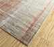 Jaipur Rugs - Hand Knotted Wool and Bamboo Silk Ivory SRB-701 Area Rug Floorshot - RUG1090165