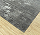 Jaipur Rugs - Hand Knotted Wool and Bamboo Silk Grey and Black SRB-702 Area Rug Floorshot - RUG1094519
