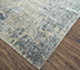 Jaipur Rugs - Hand Knotted Wool and Bamboo Silk Grey and Black SRB-703 Area Rug Floorshot - RUG1074074