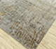 Jaipur Rugs - Hand Knotted Wool and Bamboo Silk Grey and Black SRB-703 Area Rug Floorshot - RUG1085111