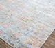 Jaipur Rugs - Hand Knotted Wool and Bamboo Silk Blue SRB-705 Area Rug Floorshot - RUG1074091