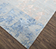 Jaipur Rugs - Hand Knotted Wool and Bamboo Silk Blue SRB-706 Area Rug Floorshot - RUG1074331