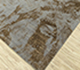 Jaipur Rugs - Hand Knotted Wool and Bamboo Silk Grey and Black SRB-706 Area Rug Floorshot - RUG1085113
