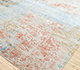 Jaipur Rugs - Hand Knotted Wool and Bamboo Silk Blue SRB-707 Area Rug Floorshot - RUG1080819