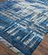 Jaipur Rugs - Hand Knotted Wool and Bamboo Silk Blue SRB-709 Area Rug Floorshot - RUG1074098