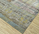 Jaipur Rugs - Hand Knotted Wool and Bamboo Silk Grey and Black SRB-709 Area Rug Floorshot - RUG1083436