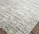 Jaipur Rugs - Hand Knotted Wool and Bamboo Silk Grey and Black SRB-712 Area Rug Floorshot - RUG1074042
