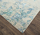 Jaipur Rugs - Hand Knotted Wool and Bamboo Silk Ivory SRB-713 Area Rug Floorshot - RUG1074127