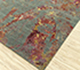 Jaipur Rugs - Hand Knotted Wool and Bamboo Silk Blue SRB-713 Area Rug Floorshot - RUG1100652