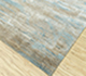 Jaipur Rugs - Hand Knotted Wool and Bamboo Silk Blue SRB-714 Area Rug Floorshot - RUG1084456