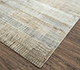 Jaipur Rugs - Hand Knotted Wool and Bamboo Silk Ivory SRB-715 Area Rug Floorshot - RUG1075097