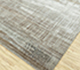 Jaipur Rugs - Hand Knotted Wool and Bamboo Silk Grey and Black SRB-724 Area Rug Floorshot - RUG1084043