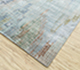 Jaipur Rugs - Hand Knotted Wool and Bamboo Silk Blue SRB-727 Area Rug Floorshot - RUG1094372